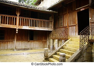 Interior Court Palace of King Hmong - Courtyard of the...