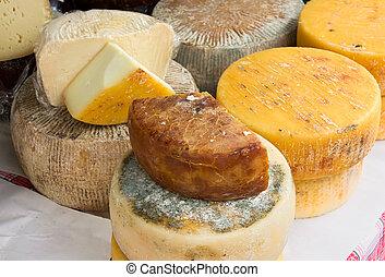 italiano, queijo