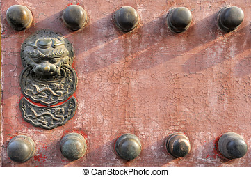 Iconic Chinese Gate, Beijing, China