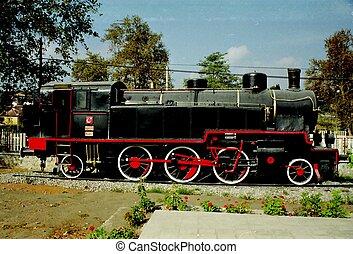 locomotve,  3558, vapor, turco