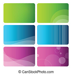 Business cards - Set of business cards
