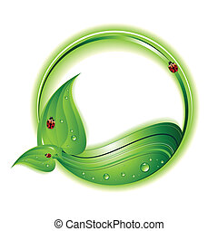 Eco Concept - An abstract eco background also can be used as...