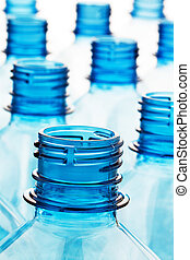 Plastic bottle. Empty plastic bottles