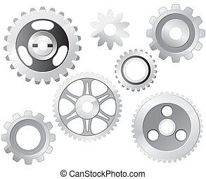 Machine Gear Wheel