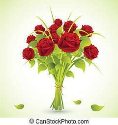 Bukiet, Róże