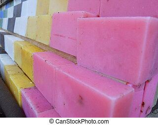 organic soap bars - colorful organic handmade soaps on sale...