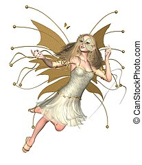 Butterfly Fairy - Golden