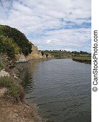 Back Bay Ecological Reserve - River in Back Bay Ecological...