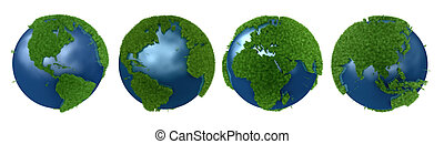 Green Planet collage