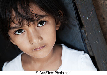 Young Asian girl portrait - Portrait of a pretty Asian girl...