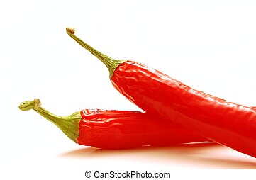 red chilli isolated