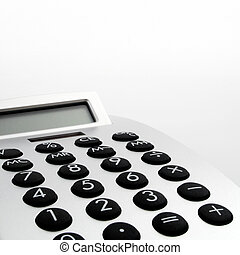 Electronic Calculator closeup - Design electronic...