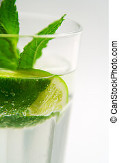 Mojito Cocktail - A glass of mojito cocktail