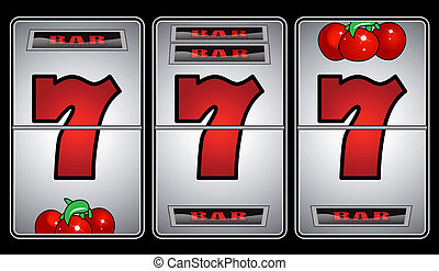 Slot Machine with Seven