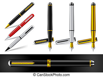 Fountain Pen and Ball Point Pen