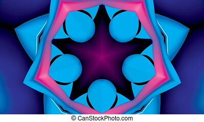 kaleidoscope 1 - Loop kaleidoscope 5 stars