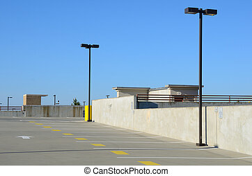 Parking Deck - Top of a parking deck