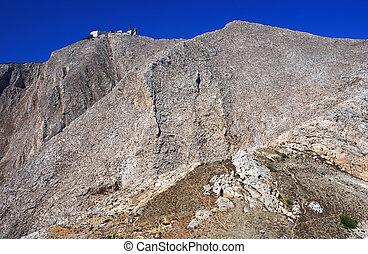 Profitis Elias mountain, Santorini - Profitis Elias is the...