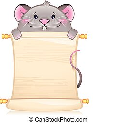 Mouse with scroll