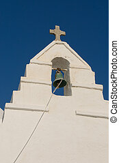 iglesia, isla,  Mykonos,  paraportiani,  panagia, grecia