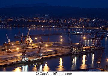 Port of Bilbao, Santurtzi, Bizkaia, Spain