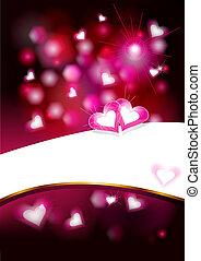 Valentine`s background