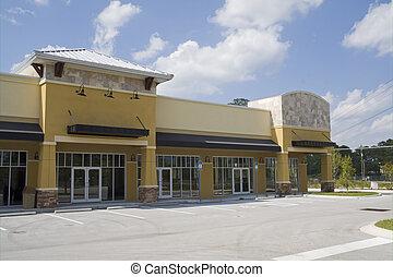 harvest gold strip mall