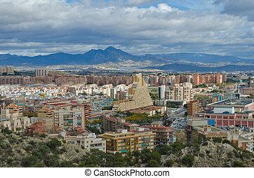 Alicante Cityscape - Cityscape of Alicante, Comunidad...