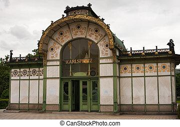 Karlsplatz Stadtbahn Station, Vienna, Austria