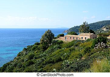 Sardinia - cost of Sardinia, Villasimius ,Italy