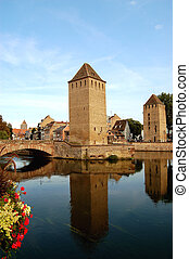 The Two Towers - Petite France - Strasbourg - France