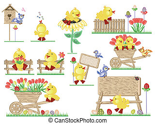 Easter icons - Easter, icons ,ducklings