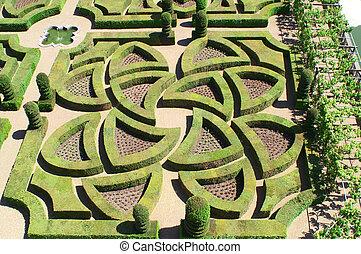 Villandry - Garden in Villandry, France