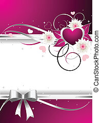 Valentines Illustration - Cute Valentines illustration, with...