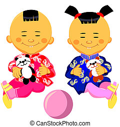 Photos chinois adolescent clipart chinois