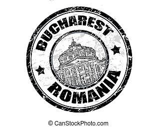 Bucharest stamp