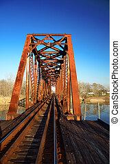 Overhead Tressle - Old historical rusty overhead tressle...