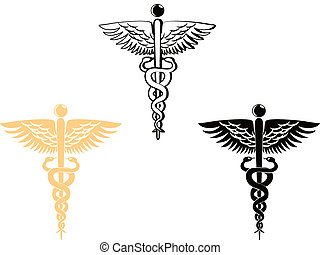 medical symbol - 3 different style of medical symbol
