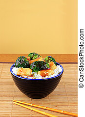 Stir Fried Tofu and Broccoli - Vegetarian Stir Fry dish of...