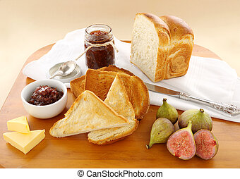 Fig Jam And Bread