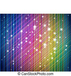 Colorful vector background - Abstract background made of...