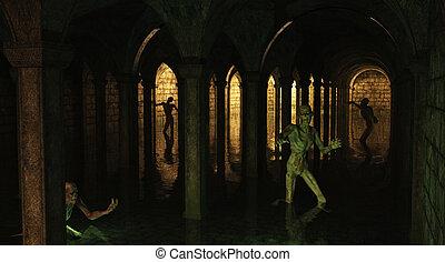 Zombie Catacombs
