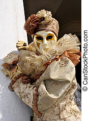 Carnival of Venice - carnival masks, colorful and beautiful...