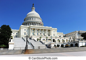 US Congressi Building - A view of the United States Congress...
