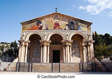 Church of All Nations - Jerusalem - Church of All Nations in...
