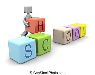 Children education concept