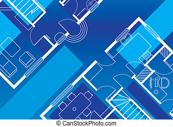 building plans - abstract building plans