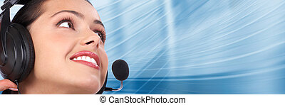Call center Customer support Helpdesk - Beautiful business...