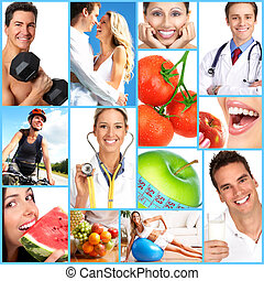 Health - People, health, diet, healthy nutrition, food,...