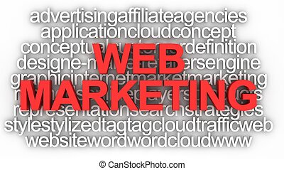 Web Marketing Concept  - Web Marketing Concept